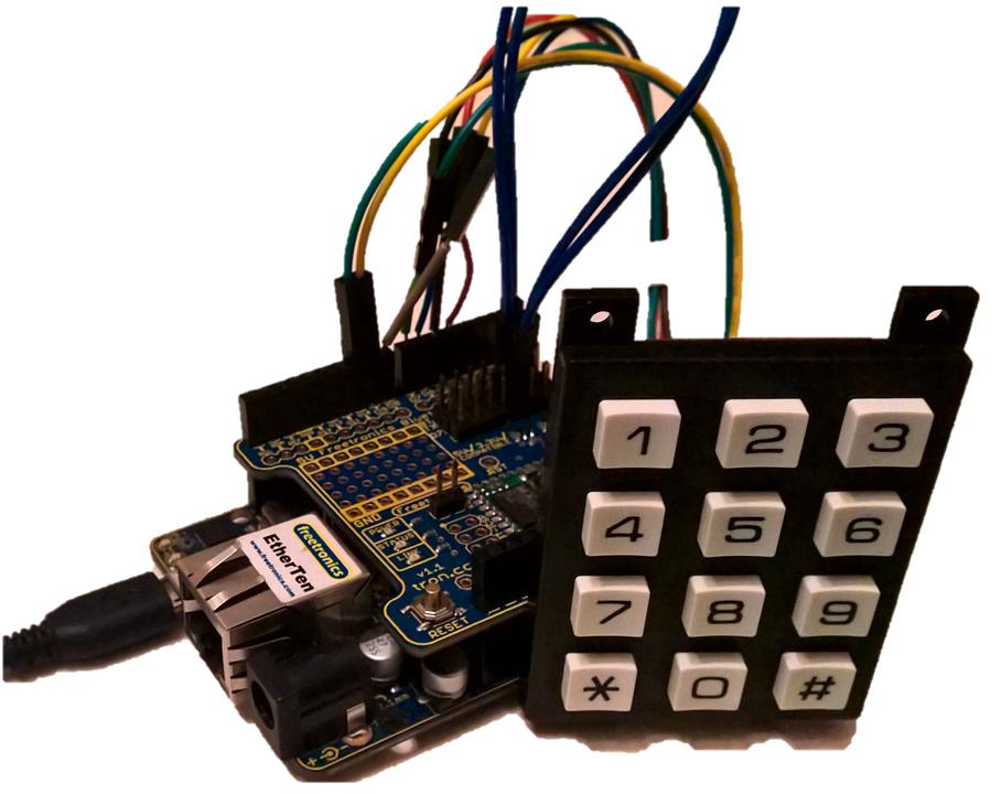 Arduino bluetooth keypad utilities event sketch
