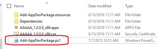 Powershell Install Appxbundle