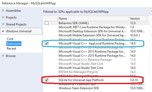 "Win 10 IoT: Universal App – SQLite Database: Part 2 ""A"