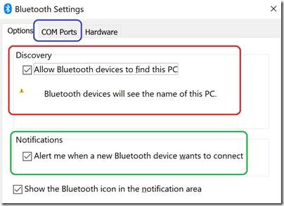 Interconnect issue over Bluetooth Serial | David Jones