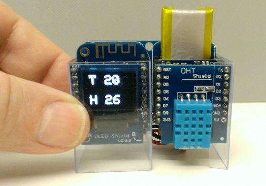 How long can an ESP8266 run on battery